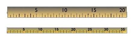 DSD digital ruler
